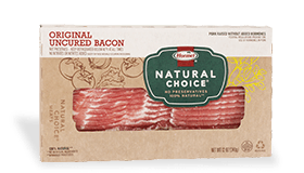 HORMEL<sup>®</sup> NATURAL CHOICE<sup>®</sup> Original Uncured Bacon