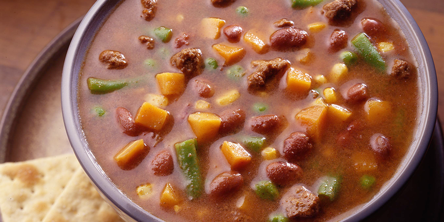 Beef and Chili Soup
