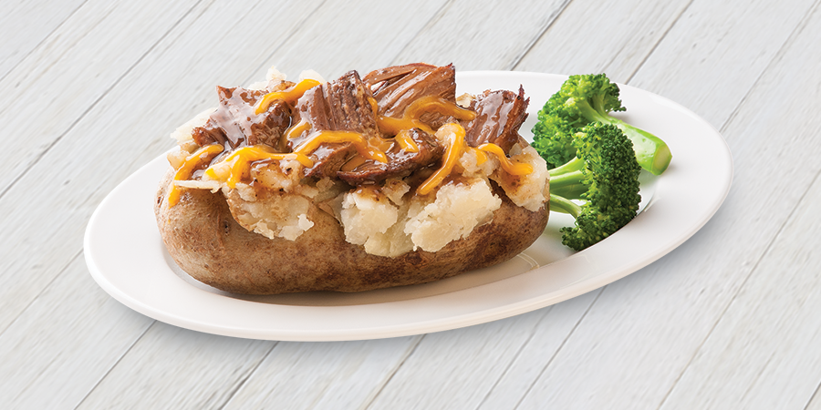 Beefy Baked Potato