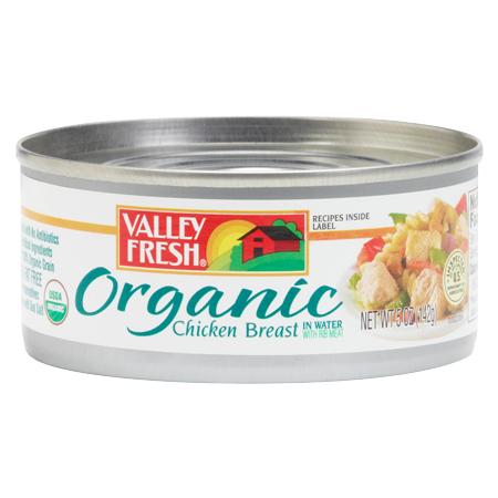 Organic Chicken Breast 5 oz., 10 oz. and 4-pack 10 oz.