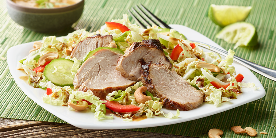 Thai Pork Tenderloin Salad