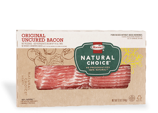 HORMEL<sup>&reg;</sup> NATURAL&nbsp;CHOICE<sup>&reg;</sup> Original Uncured Bacon
