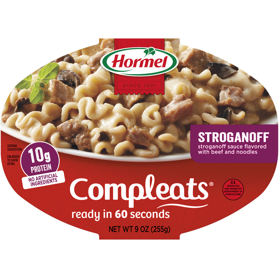 HORMEL<sup>&reg;</sup> COMPLEATS<sup>&reg;</sup> Beef Stroganoff