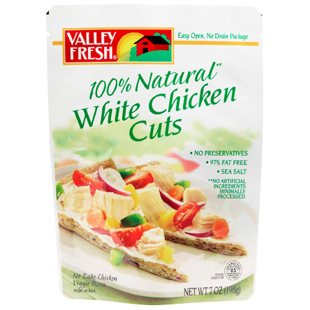 100% Natural White Chicken Cuts 7 oz.