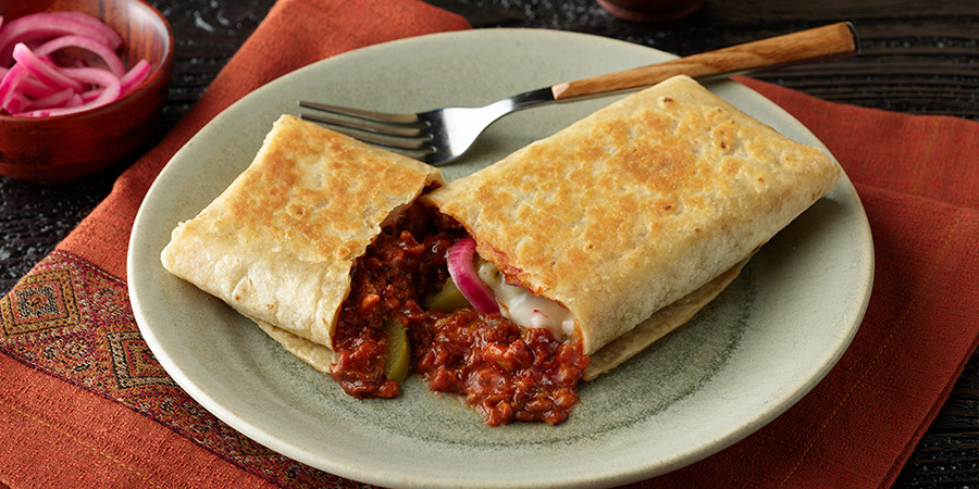 Barbeque Pork Burritos