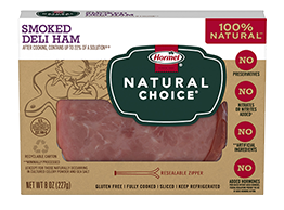 HORMEL<sup>®</sup> NATURAL CHOICE<sup>®</sup> Smoked Deli Ham