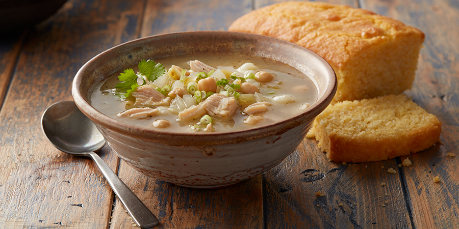 <strong>White Chicken Chili</strong>