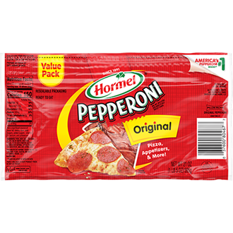 HORMEL<sup>&reg;</sup> PILLOW PACK<sup>&reg;</sup> Pepperoni 21oz.