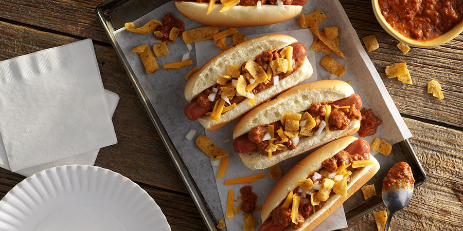 Chili Dogs and Chips