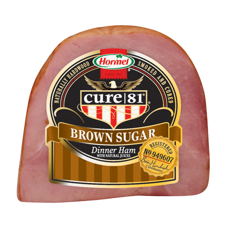 HORMEL<sup>®</sup> CURE 81<sup>®</sup> Brown Sugar Boneless Ham