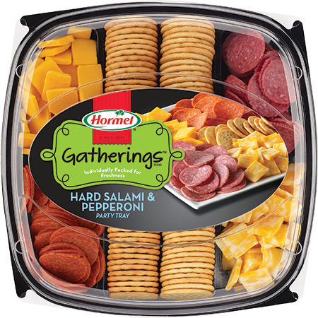 HORMEL GATHERINGS<sup>®</sup> Hard Salami & Pepperoni Party Tray 28oz
