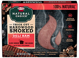 HORMEL® NATURAL CHOICE® Applewood Smoked Ham