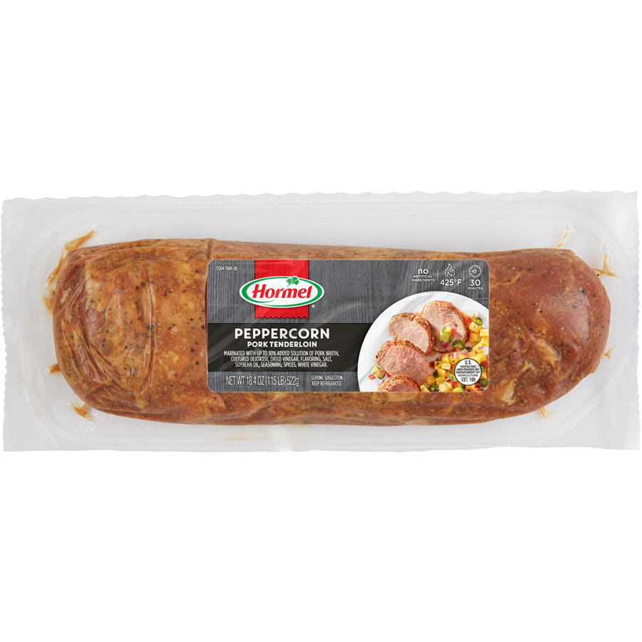 HORMEL<sup>&reg;</sup> ALWAYS TENDER<sup>&reg;</sup> Peppercorn Pork Tenderloin