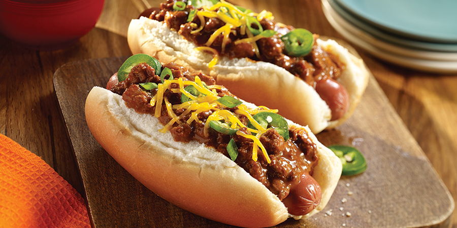 Spicy Chili Dog