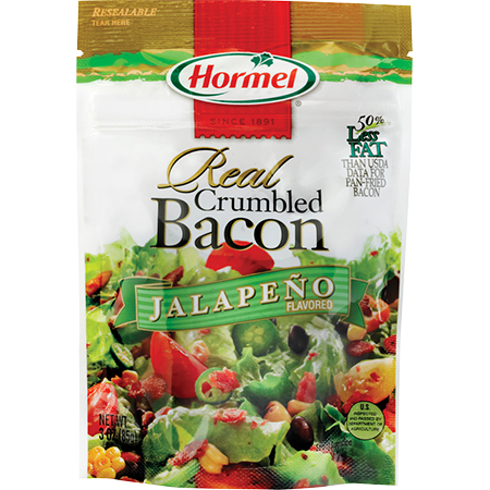 HORMEL<sup>&reg;</sup> Real Crumbled Bacon - Jalapeño Flavored