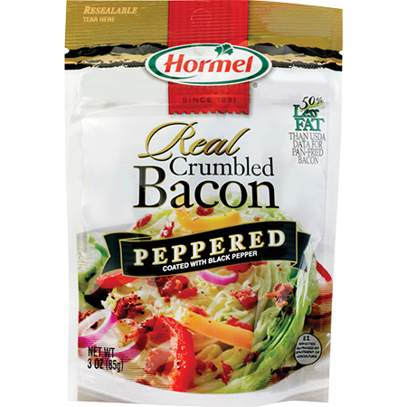 HORMEL<sup>®</sup> Real Crumbled Bacon - Peppered