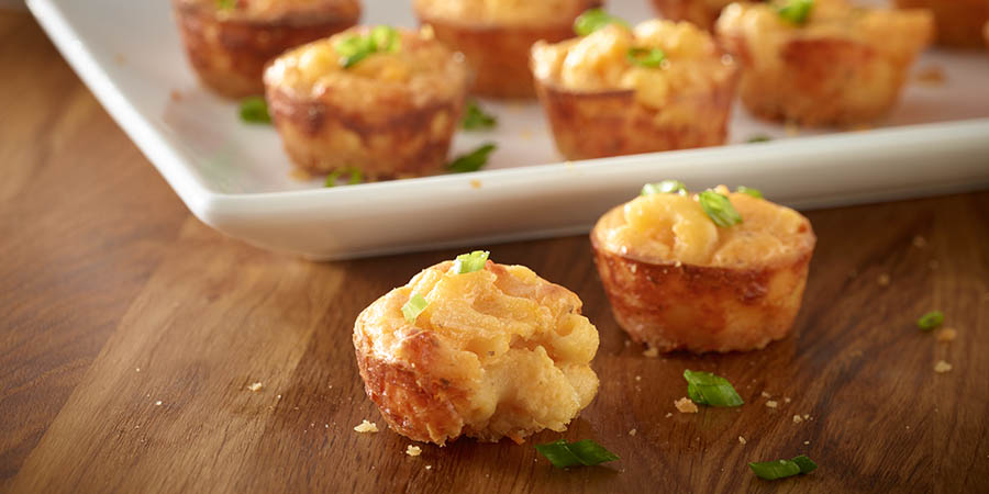 Mini Macaroni & Cheese Bites