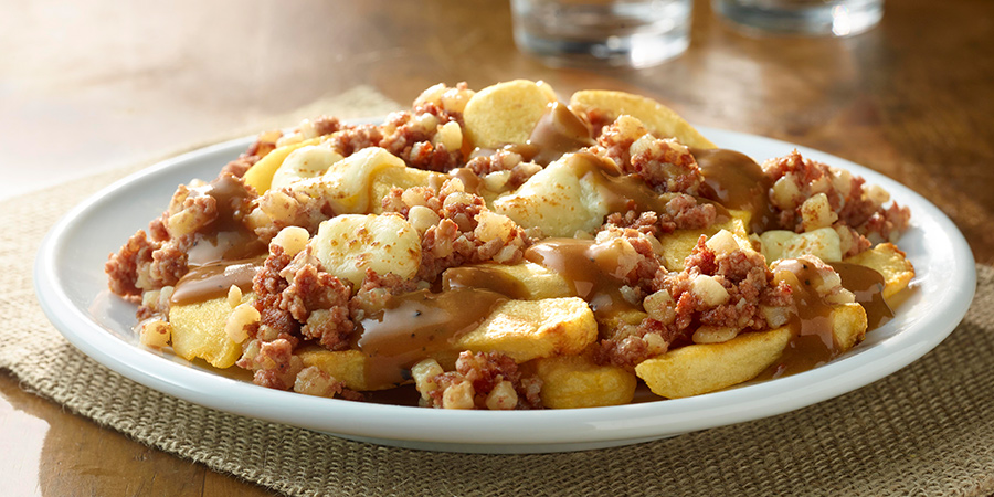 Corned Beef Hash Poutine