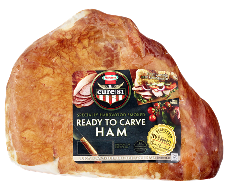 HORMEL<sup>®</sup> CURE 81<sup>®</sup> Ready To Carve Boneless Ham