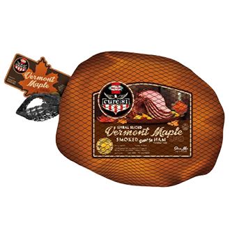 HORMEL<sup>®</sup> CURE 81<sup>®</sup> Vermont Maple Bone-In Half Ham