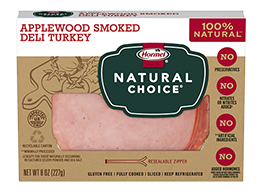 HORMEL<sup>®</sup> NATURAL CHOICE<sup>®</sup> Applewood Smoked Turkey