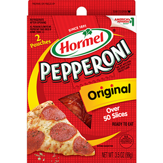 HORMEL<sup>®</sup> Pepperoni Wallet Packs