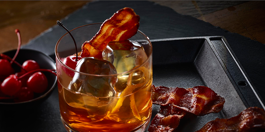 Cherrywood Bacon-Infused Manhattan