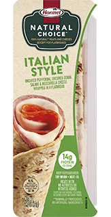 HORMEL<sup>®</sup> NATURAL CHOICE<sup>™</sup> WRAPS Italian Style