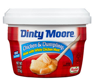 DINTY MOORE<sup>®</sup> Chicken & Dumplings