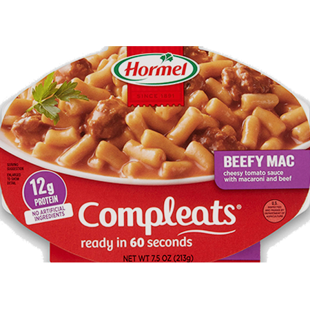 HORMEL<sup>®</sup> COMPLEATS<sup>®</sup> Beefy Mac & Cheese