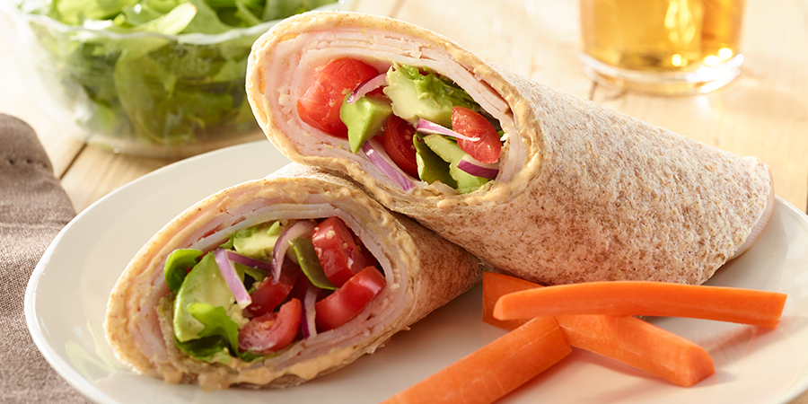 Turkey & Avocado Wrap