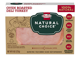 HORMEL<sup>®</sup> NATURAL CHOICE<sup>®</sup> Oven Roasted Deli Turkey