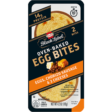 HORMEL™ BLACK LABEL™ Egg Bites with Chorizo sausage and three cheeses