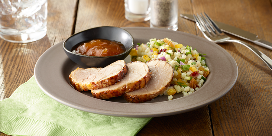 Amazing Apricot Pork Tenderloin