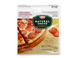 HORMEL<sup>®</sup> NATURAL CHOICE<sup>®</sup> Uncured Pepperoni