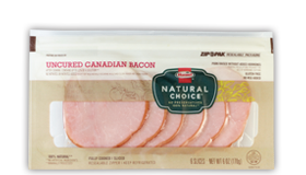 HORMEL<sup>®</sup> NATURAL CHOICE<sup>®</sup> Canadian Bacon