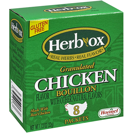 HERB-OX<sup>®</sup> Granulated Chicken Bouillon Packets - 1.1 oz