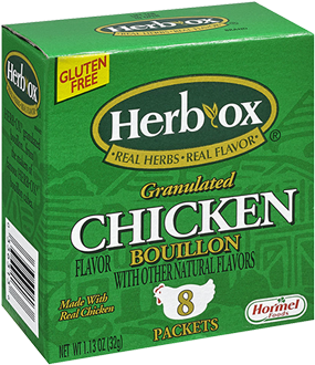 HERB-OX<sup>®</sup> Granulated Chicken Bouillon Packets - 1.1 oz<br />