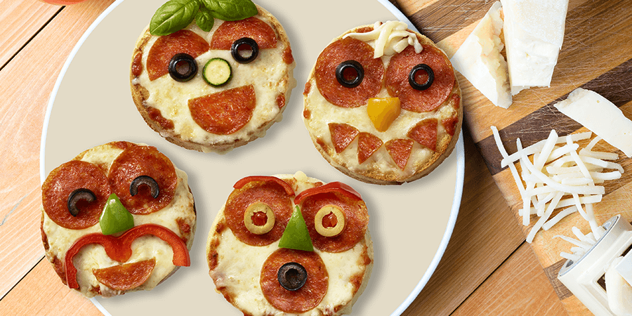 Funny Face Pizzas