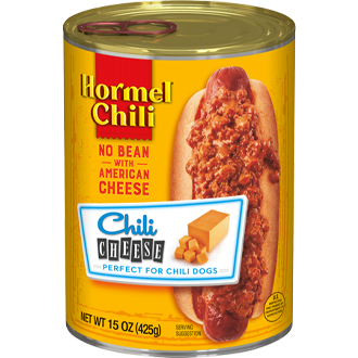 HORMEL<sup>®</sup> Chili No Bean with American Cheese