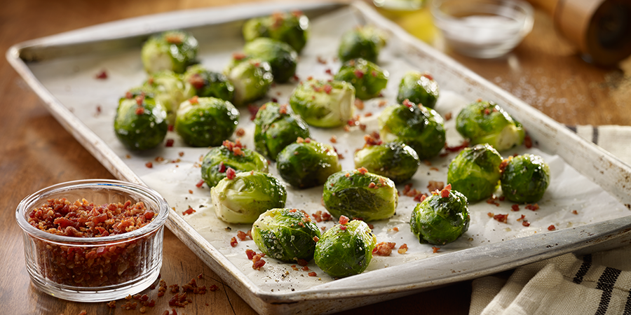 Brussels Sprouts with Bacon Bits