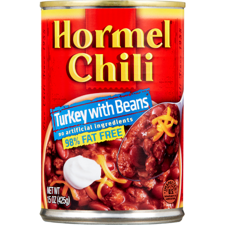 HORMEL<sup>&reg;</sup> Chili Turkey with Beans