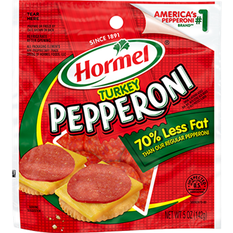 HORMEL<sup>&reg;</sup> PILLOW PACK<sup>&reg;</sup> Pepperoni - Turkey