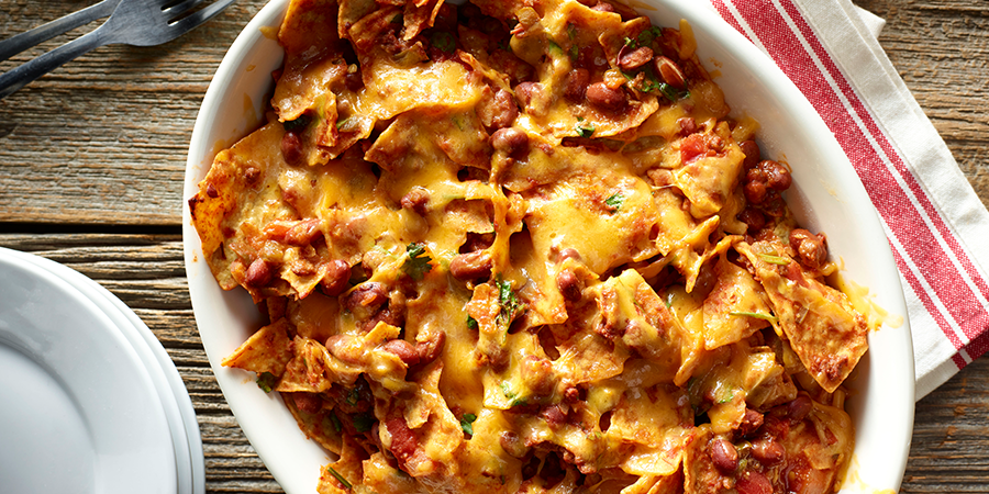 <strong>Chili Chips Casserole</strong>