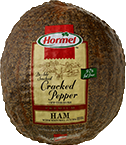 HORMEL<sup>&reg;</sup> Double Smoked Cracked Pepper Ham