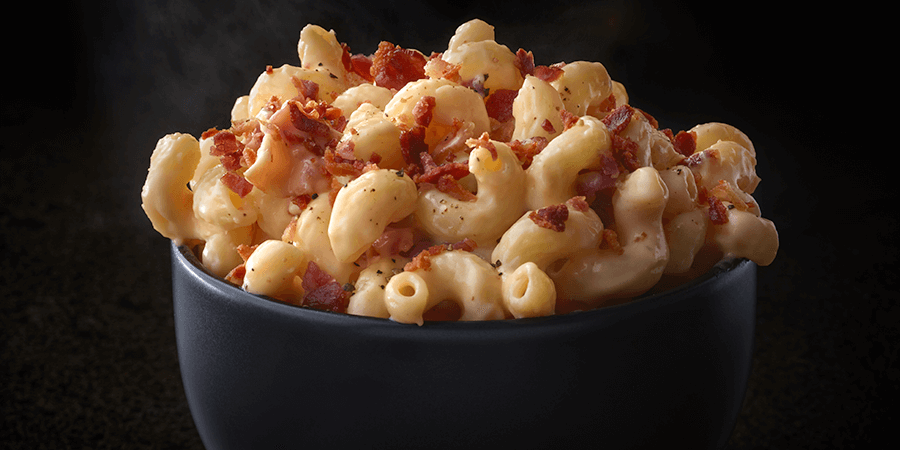<strong>Four Cheese Bacon Mac and Cheese</strong>