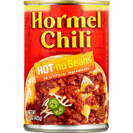 HORMEL<sup>®</sup> Chili Hot No Beans