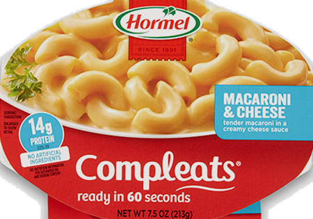 HORMEL<sup>®</sup> COMPLEATS<sup>®</sup> Macaroni & Cheese