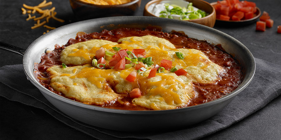 Barbeque Chili and Cornbread