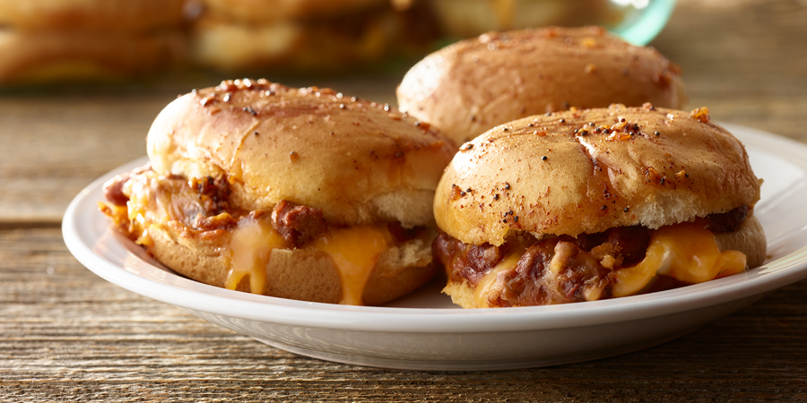 Chili Sloppy Joe Sliders